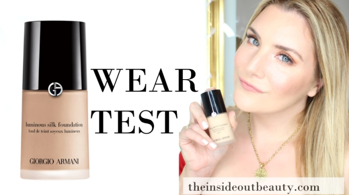 Giorgio Armani Lasting Silk UV Foundation | First Impressions & Wear Test