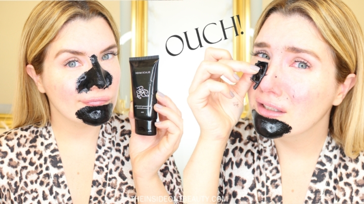NO MORE BLACKHEADS ?? I TRY A PEEL OFF CHARCOAL MASK