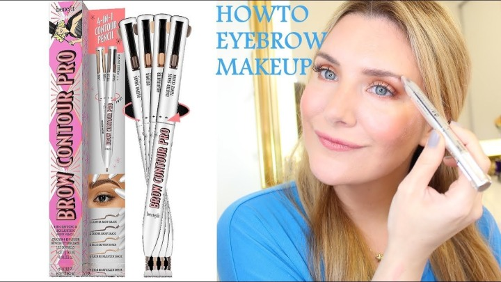 How To Eyebrow Makeup using Benefit Brow Contour Pro 4 in 1 Pen